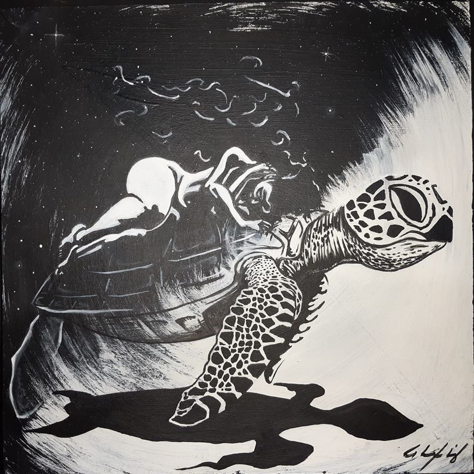 Cosmic turtle- Alexis G. Berni